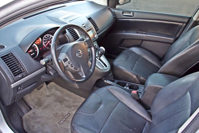 2011 Nissan SENTRA 2.0 SL SEDAN FULLY LOADED LEATHER ALLOY WHLS 1-OWNER SERVICE RECORDS NEW TIRES Woodland Hills, CA 16