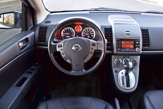 2011 Nissan SENTRA 2.0 SL SEDAN FULLY LOADED LEATHER ALLOY WHLS 1-OWNER SERVICE RECORDS NEW TIRES Woodland Hills, CA 24