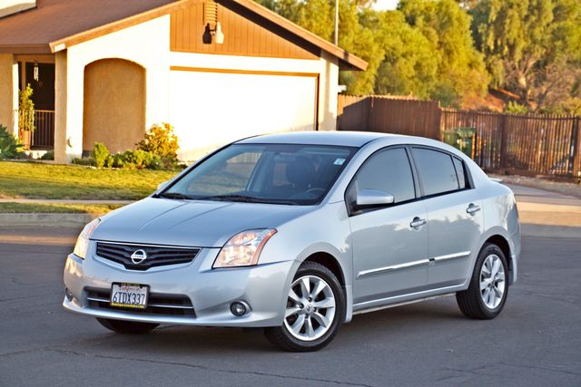 2011 Nissan SENTRA 2.0 SL SEDAN FULLY LOADED LEATHER ALLOY WHLS 1-OWNER SERVICE RECORDS NEW TIRES Woodland Hills, CA 10