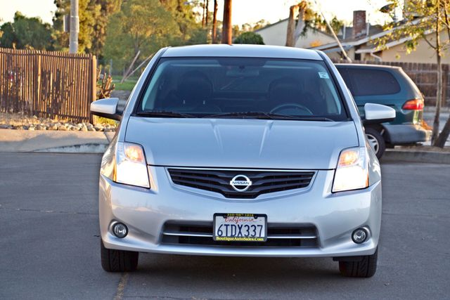 2011 Nissan SENTRA 2.0 SL SEDAN FULLY LOADED LEATHER ALLOY WHLS 1-OWNER SERVICE RECORDS NEW TIRES Woodland Hills, CA 9