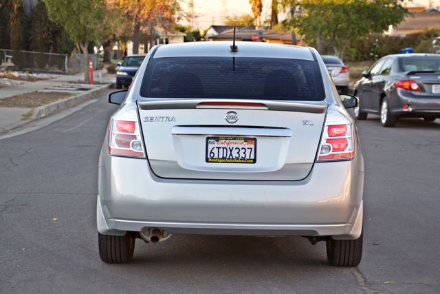 2011 Nissan SENTRA 2.0 SL SEDAN FULLY LOADED LEATHER ALLOY WHLS 1-OWNER SERVICE RECORDS NEW TIRES Woodland Hills, CA 4