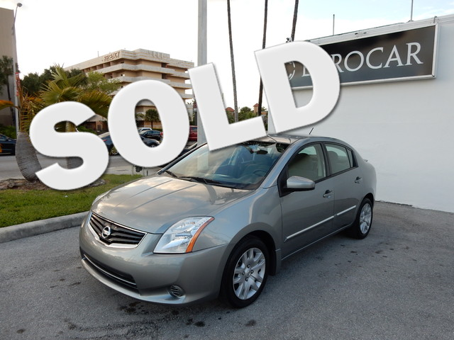 2011 Nissan Sentra 20 S CVT with Xtronic and Gray Cloth Fuel-friendly Fuel miser If you want a