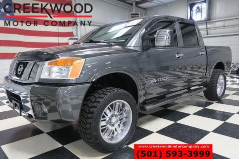 2011 Nissan Titan SL 4x4 Crew Cab Leather Heated Chrome 20s Lifted in Searcy, AR