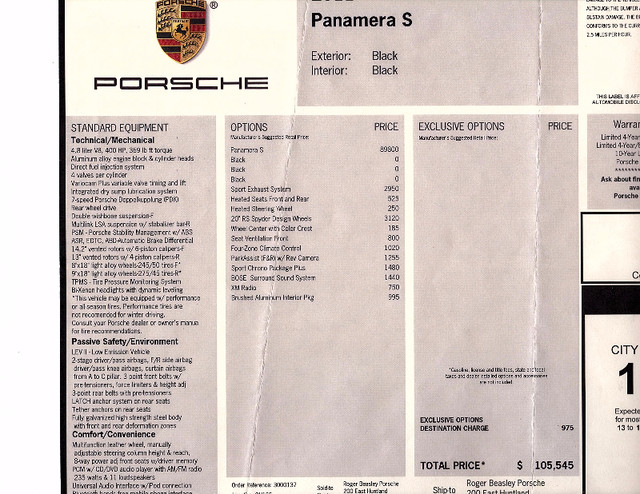 2011 Porsche Panamera S Austin , Texas 27