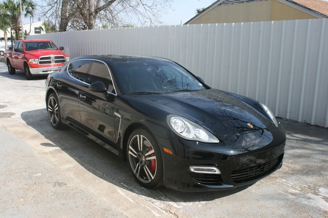 2011 Porsche Panamera Turbo Houston, Texas 8