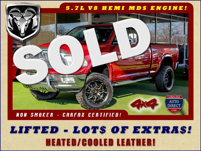 2011 Ram 1500 Laramie Quad Cab 4x4 - LIFTED - LOTS OF EXTRA$! Mooresville , NC 0