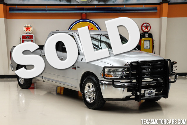 2011 Ram 2500 SLT This Carfax 1-Owner accident-free 2011 Ram 2500 SLT is in great shape with only