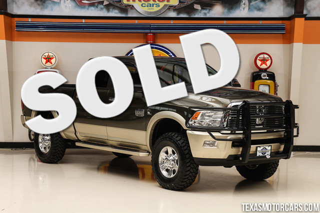 2011 Ram 2500 Laramie Longhorn Edition This Carfax 1-Owner 2011 Ram 2500 Laramie Longhorn Edition