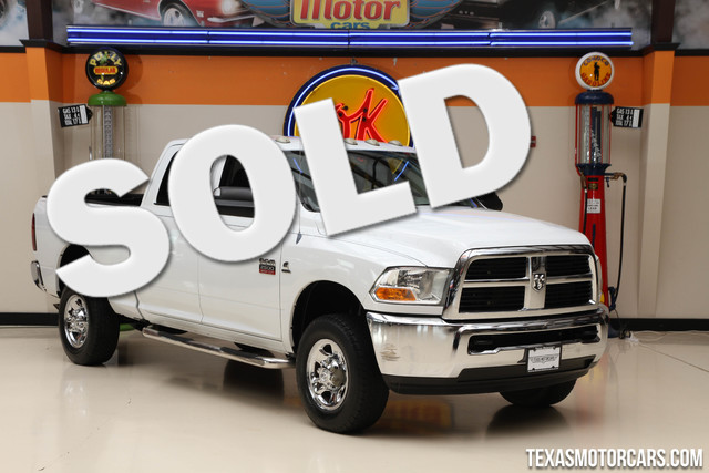2011 Ram 2500 ST 4x4 This clean Carfax 2011 Ram 2500 ST is in great shape with only 108 244 miles
