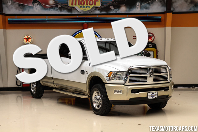 2011 Ram 3500 Laramie Longhorn Edition This Carfax 1-Owner 2011 Ram 3500 Laramie Longhorn Edition