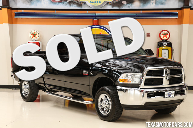2011 Ram 3500 4x4 This Carfax 1-Owner 2011 Dodge Ram 3500 SLT is in great shape with only 105 694