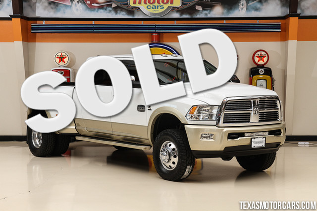 2011 Ram 3500 Laramie Longhorn Edition Financing is available with rates as lo