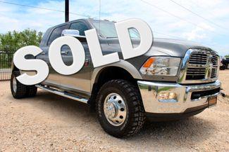 2011 Ram 3500 DRW Laramie Mega Cab 4X4 6.7L Cummins Diesel 6 Speed Manual Sealy, Texas