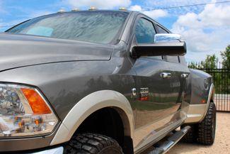 2011 Ram 3500 DRW Laramie Mega Cab 4X4 6.7L Cummins Diesel 6 Speed Manual Sealy, Texas 4