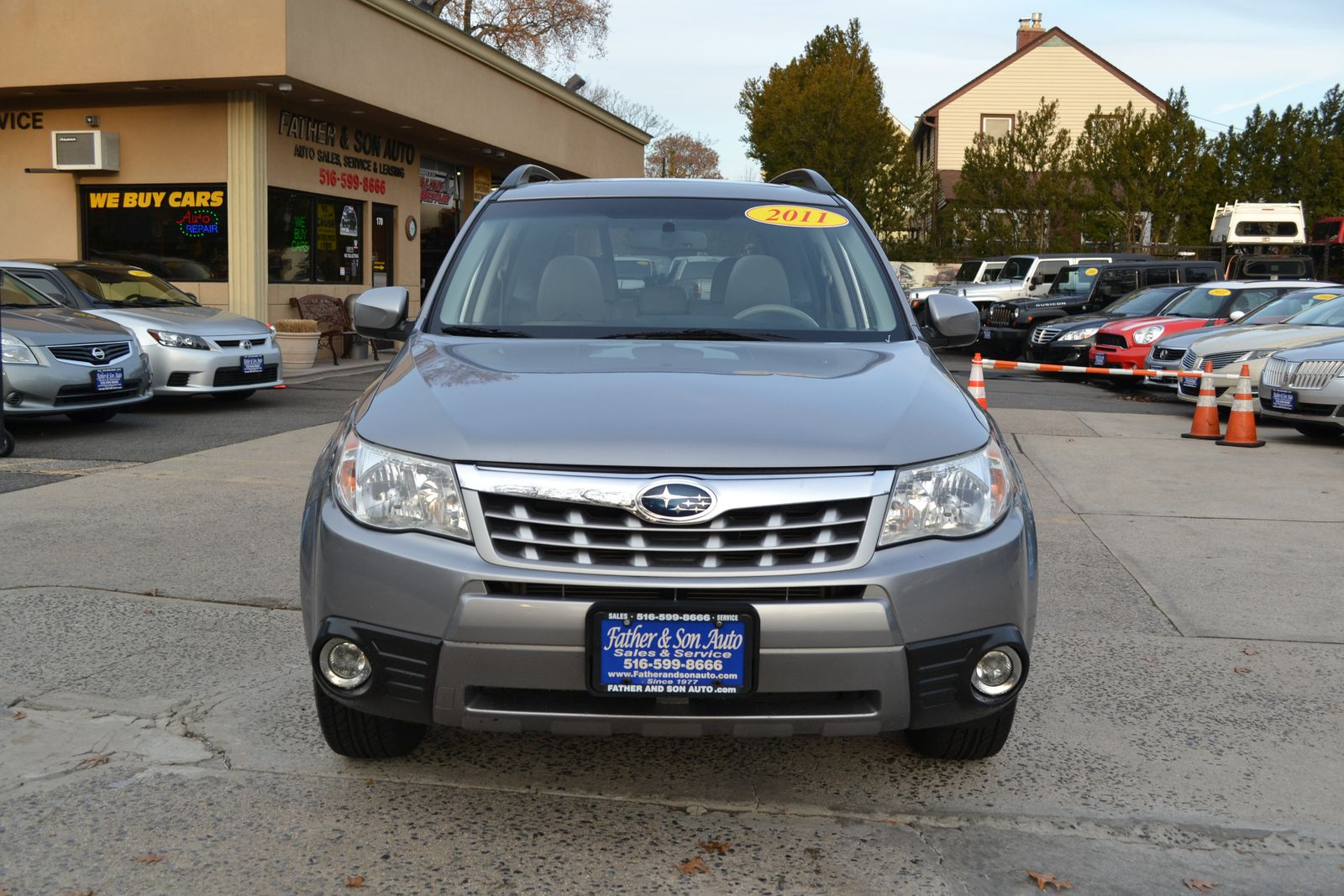 All Types 2011 forester : 2011 Subaru Forester 25X Limited city New Father Son Auto Corp