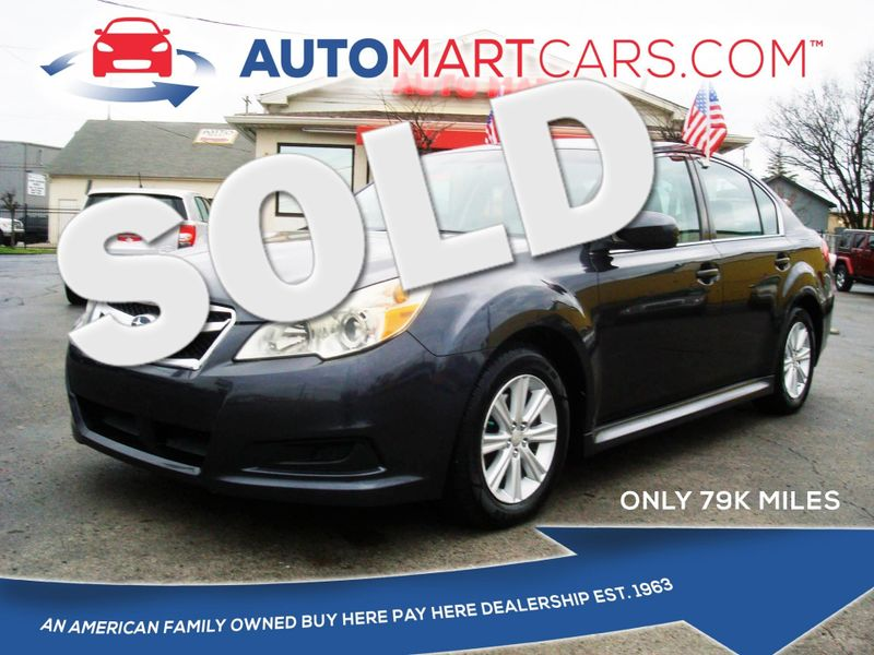 2011 Subaru Legacy 2.5i Prem AWP | Nashville, Tennessee | Auto Mart Used Cars Inc. in Nashville Tennessee