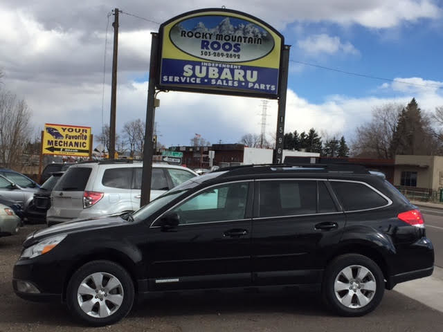 2011 Subaru Outback 2.5i Premium with All Weather Package Golden, Colorado 2