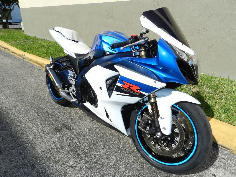2011 Suzuki GSX-R 1000 GSXR GIXXER LOW MILES Must See  city Florida  MC Cycles  in Hollywood, Florida
