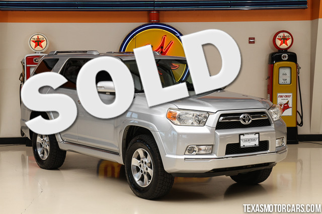 2011 Toyota 4Runner SR5 4x4 Financing is available with rates as low as 29 wac Get pre-approv