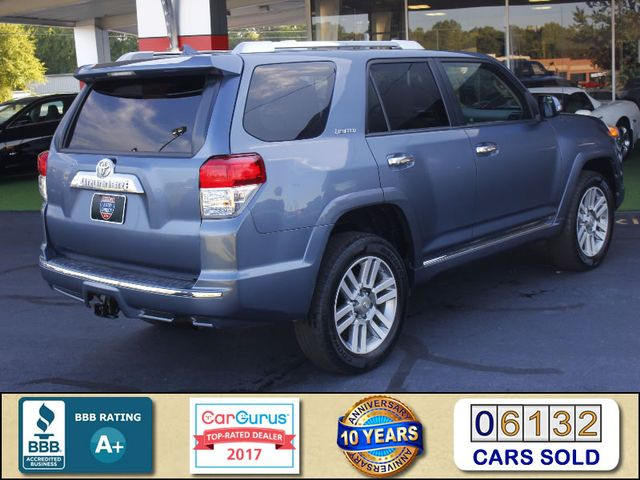 2011 Toyota 4Runner Limited 4WD - SUNROOF - HEATED LEATHER! Mooresville , NC 2