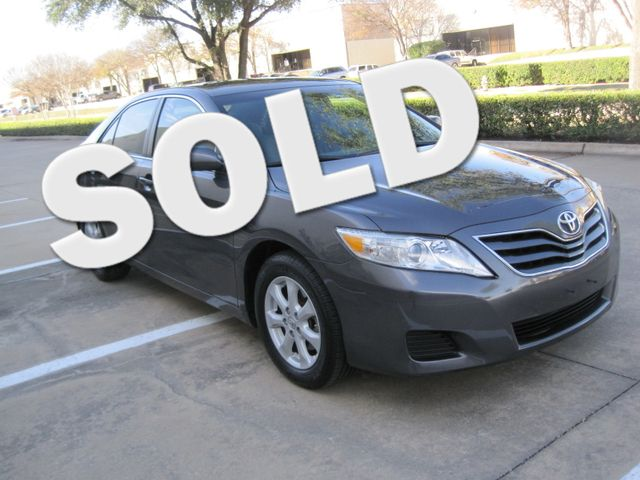 2011 Toyota Camry LE, Leather, Loaded, 1 Owner, Lo Miles Plano, Texas 0