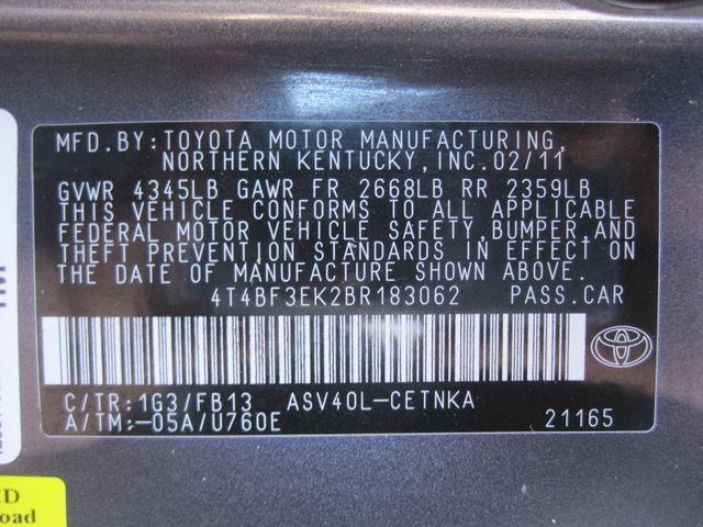 2011 Toyota Camry LE, Leather, Loaded, 1 Owner, Lo Miles Plano, Texas 31