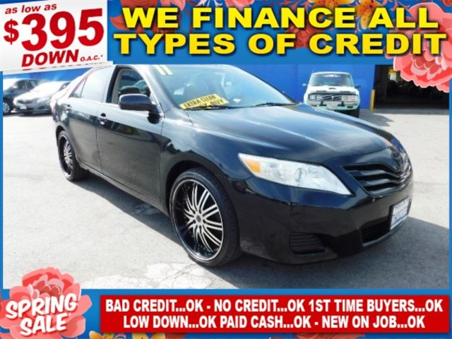 2011 TOYOTA CAMRY BASE Limited warranty included to assure your worry-free purchase AutoCheck rep
