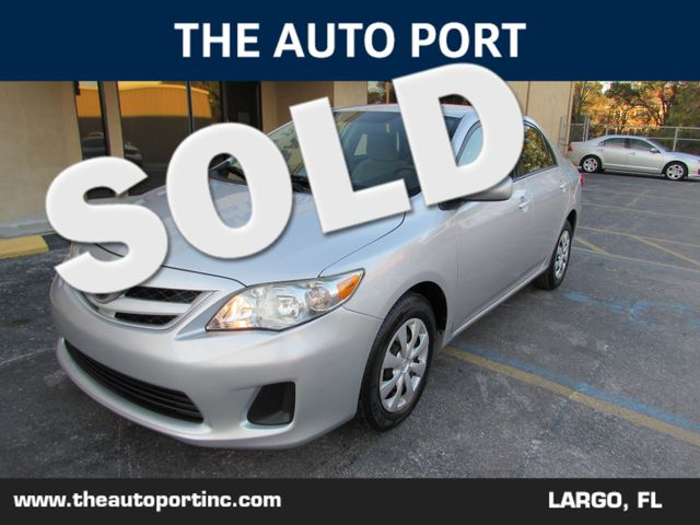 2011 Toyota Corolla LE | Clearwater, Florida | The Auto Port Inc in Clearwater Florida