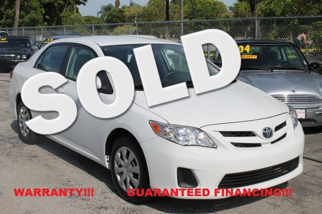 2011 Toyota Corolla LE  CERTIFIED PRE-OWNED 3 YEAR36 000 MILE WARRANTY CARFAX CERTIFIED AU