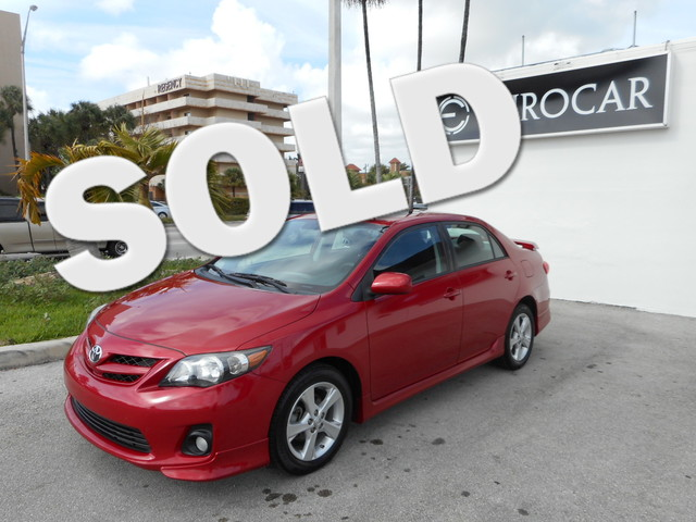2011 Toyota Corolla S Take advantage of this gorgeous 2011 Toyota Corolla S which has a CLEAN CARFA