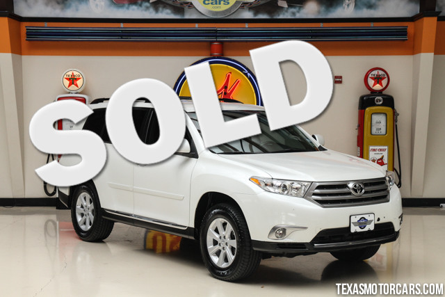 2011 Toyota Highlander Base This 2011 Toyota Highlander is in great shape with only 36 497 miles