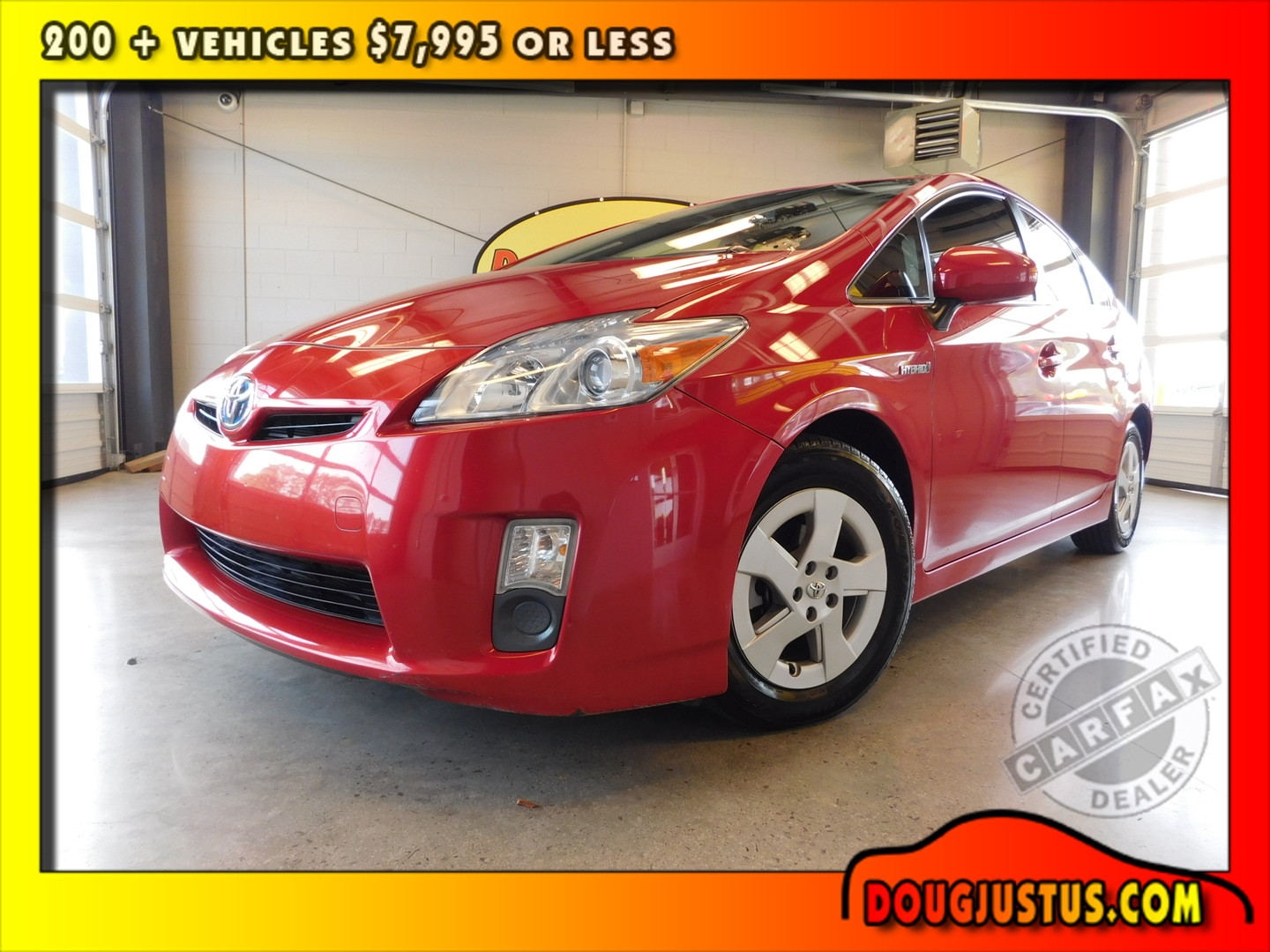 2011 toyota prius ii city tn doug justus auto center inc for Motor city auto center
