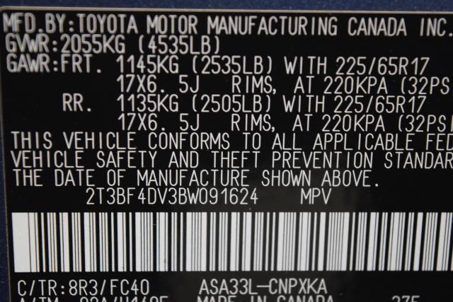 2011 Toyota RAV4 4WD 4dr 4-cyl 4-Spd AT (GS) Richmond Hill, New York 15