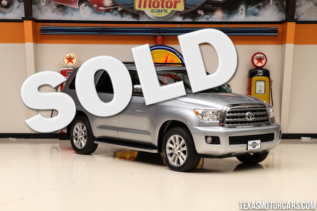2011 Toyota Sequoia Ltd This 2011 Toyota Sequoia Limited is in great shape with only 88 614 miles