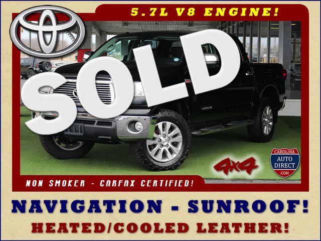 2011 Toyota Tundra PLATINUM CrewMax 4x4 - NAV - SUNROOF! Mooresville , NC 0