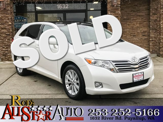 2011 Toyota Venza The CARFAX Buy Back Guarantee that comes with this vehicle means that you can bu