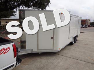 2011 Trailex CTE-80180 Enclosed Aluminum Trailer Austin , Texas