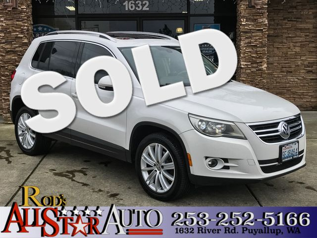 2011 Volkswagen Tiguan AWD The CARFAX Buy Back Guarantee that comes with this vehicle means that y