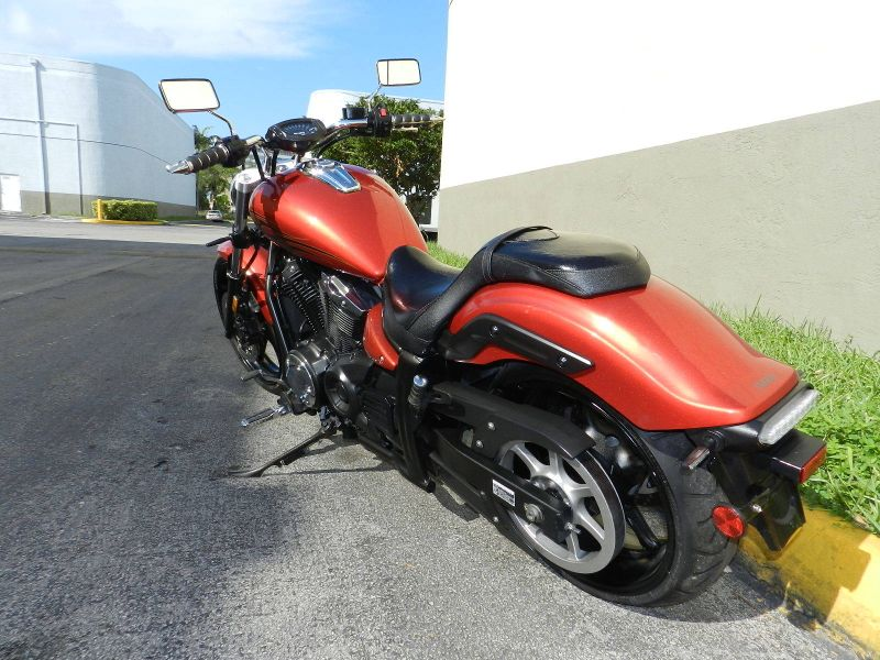 2011 Yamaha STRYKER 1300  XVS13CAOC  WARRANTY  city Florida  MC Cycles  in Hollywood, Florida