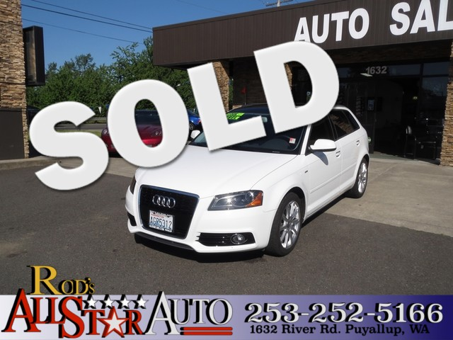 2012 Audi A3 20 TDI Premium The CARFAX Buy Back Guarantee that comes with this vehicle means that