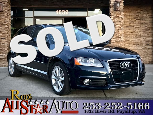 2012 Audi A3 20T Premium The CARFAX Buy Back Guarantee that comes with this vehicle means that yo