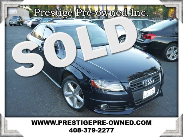 2012 Audi A4 20T Premium Plus 2012 AUDI A4 20T QUATTRO PREMIUM PLUS--AWD-ONLY 45K MILES