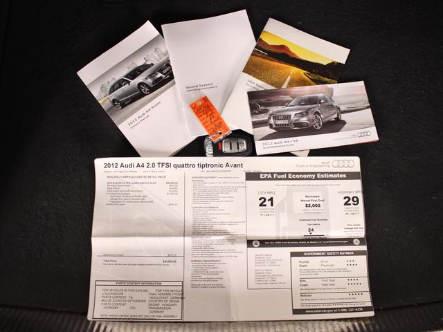 2012 Audi A4 B8 2.0T Premium Matthews, NC 26