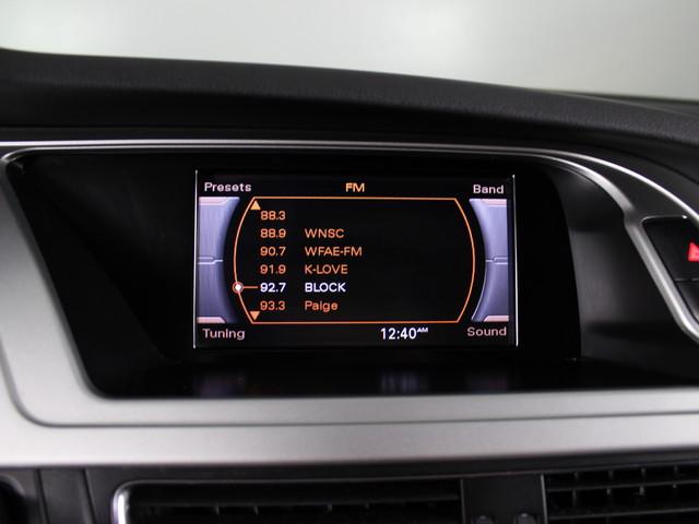 2012 Audi A4 B8 2.0T Premium Matthews, NC 40