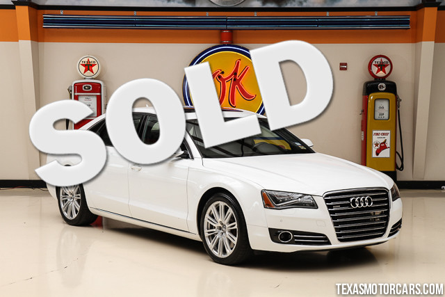 2012 Audi A8 L Quattro This Clean Carfax 2012 Audi A8 L Quattro is in excellent condition with onl