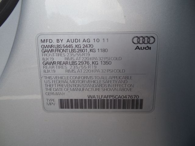 2012 Audi Q5 2.0T Premium Plus Leesburg, Virginia 41