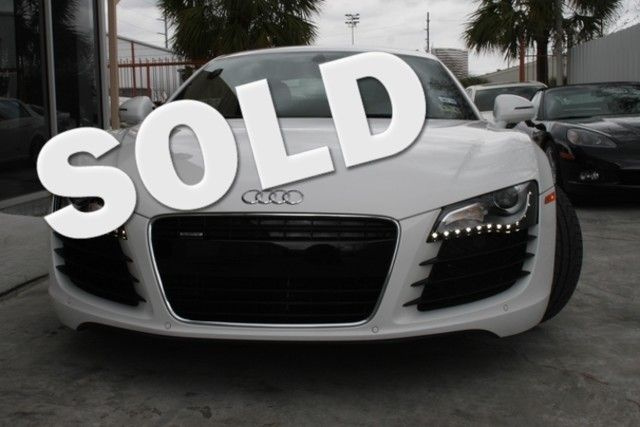 2012 Audi R8 4.2L Houston, Texas 0