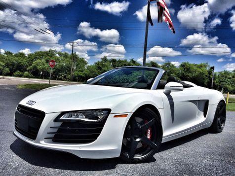 2012 Audi R8 SPYDER R-TRONIC  4.2 SPYDER $154K MSRP in , Florida