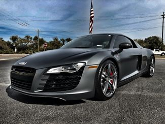 2012 Audi R8 SIGNATURE SERIES CARBON FIBER R8 MATTE GREY   Florida  Bayshore Automotive   in , Florida