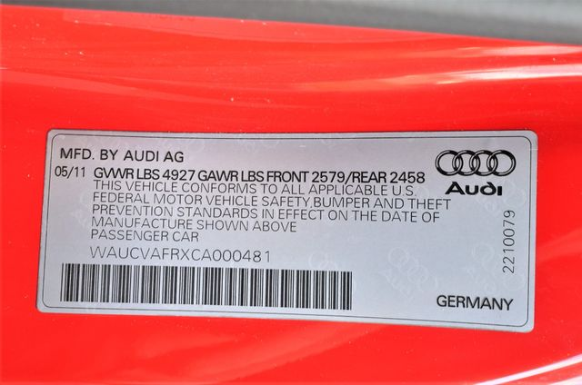 2012 Audi S5 Premium Plus Reseda, CA 45